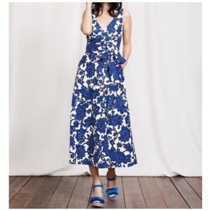 Boden Riviera Dress-Blues Island Vine, Size 6P
